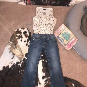 """""""MISS ME"""" Jeans- Size- 28 -BOOT CUT-"""